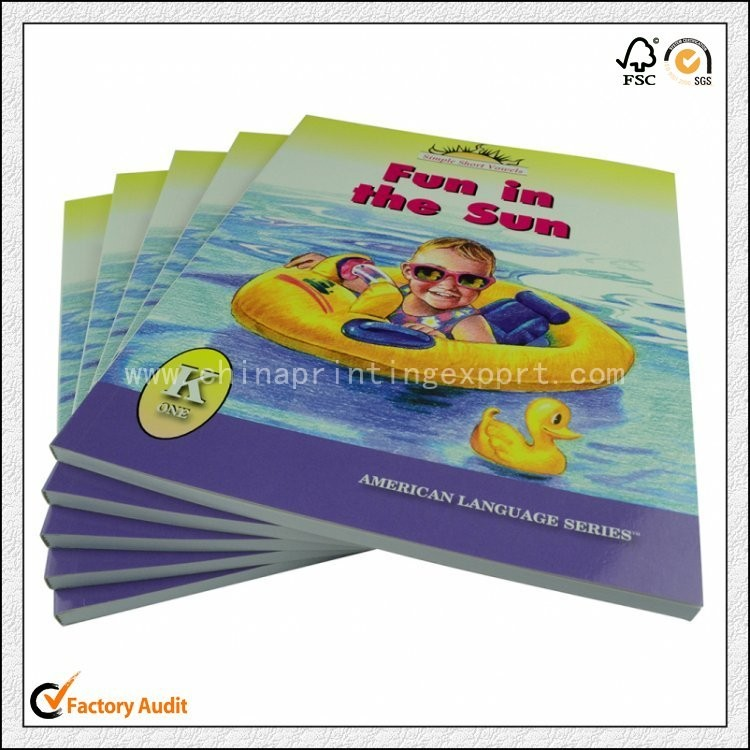 High Quality ECO Friendly Soft Cover Children Book