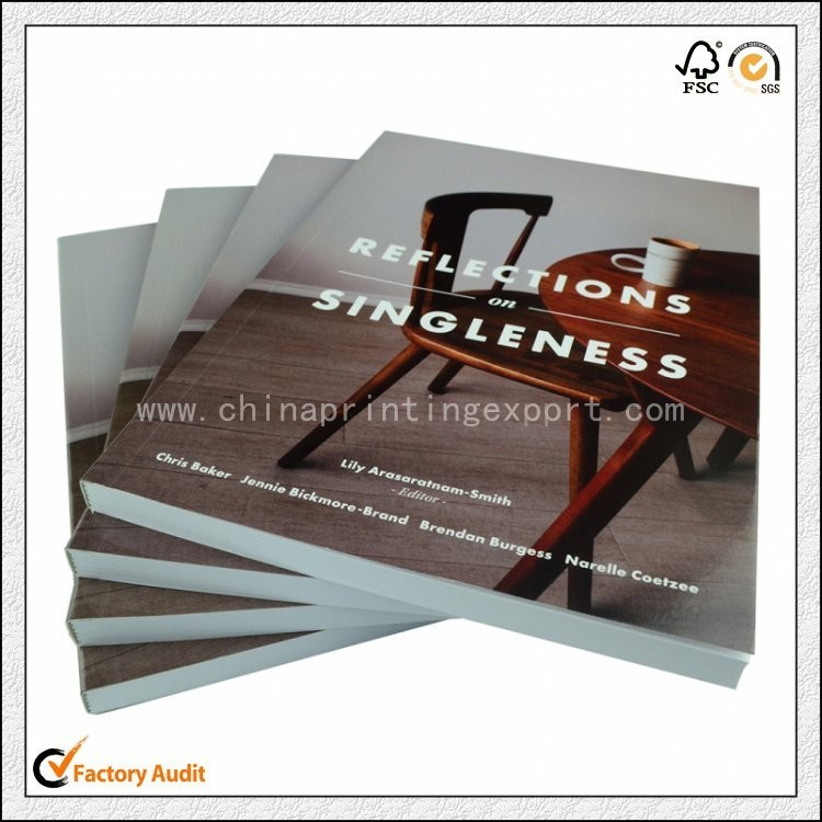 Cheap Price Custom Soft Cover Book Printing Service