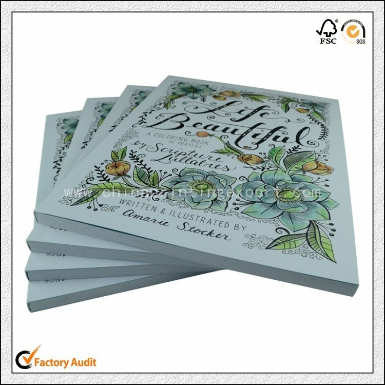 Top Quality Customized Coloring Book Printing In China
