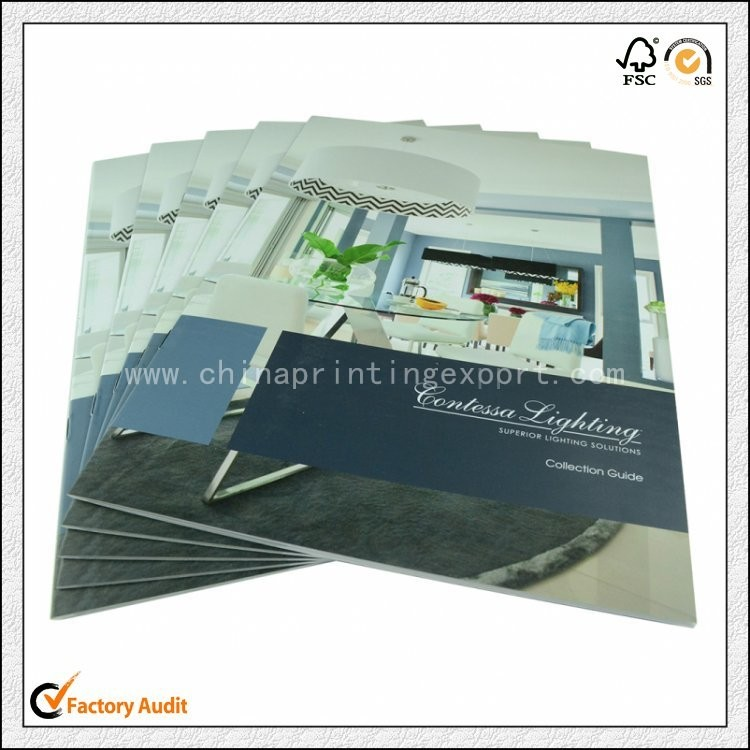China Manufacturer Custom Catalogue Printing With Low Cost