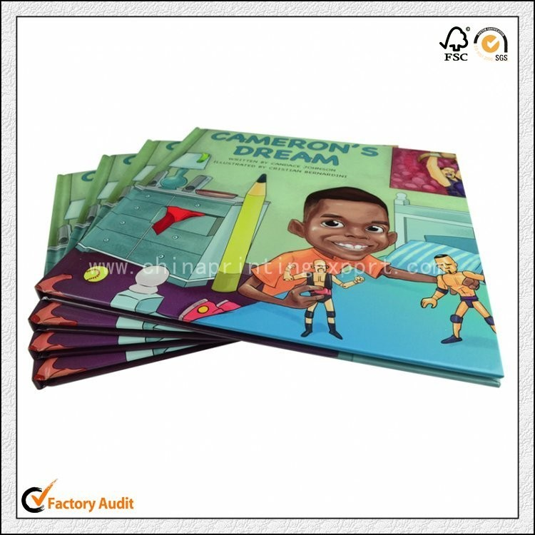 High Quality Gloss Lamination Hardcover Children Book Printing