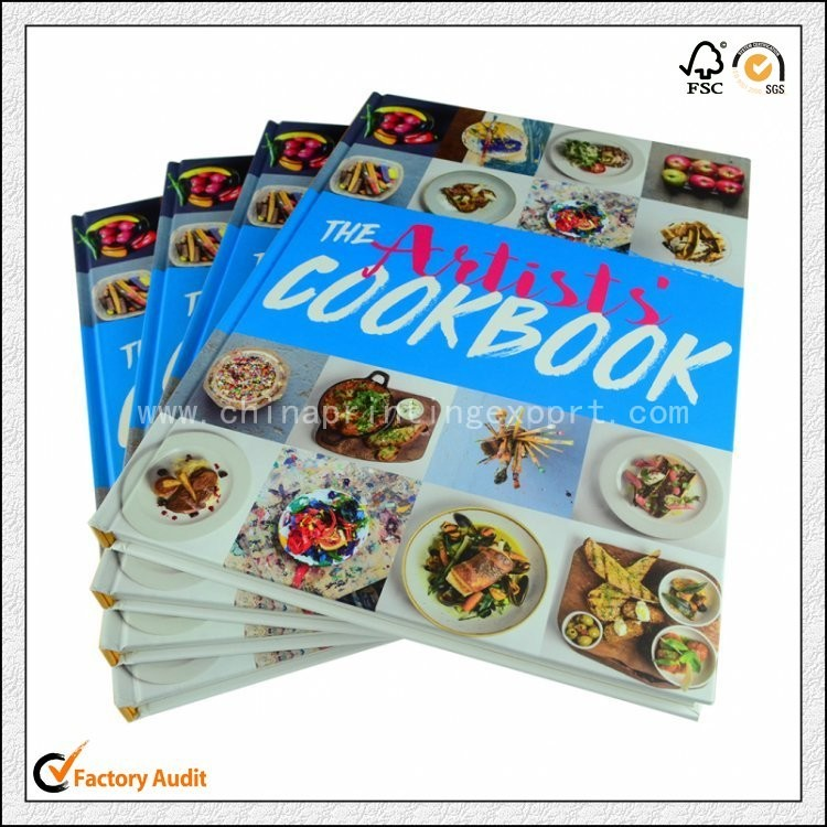 2019 China Cheap Custom Hardcover Cooking Book Printing