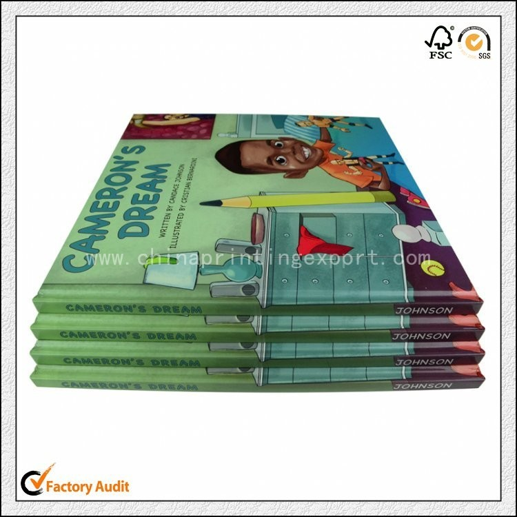 High Quality Hardcover Children Book Printing In China