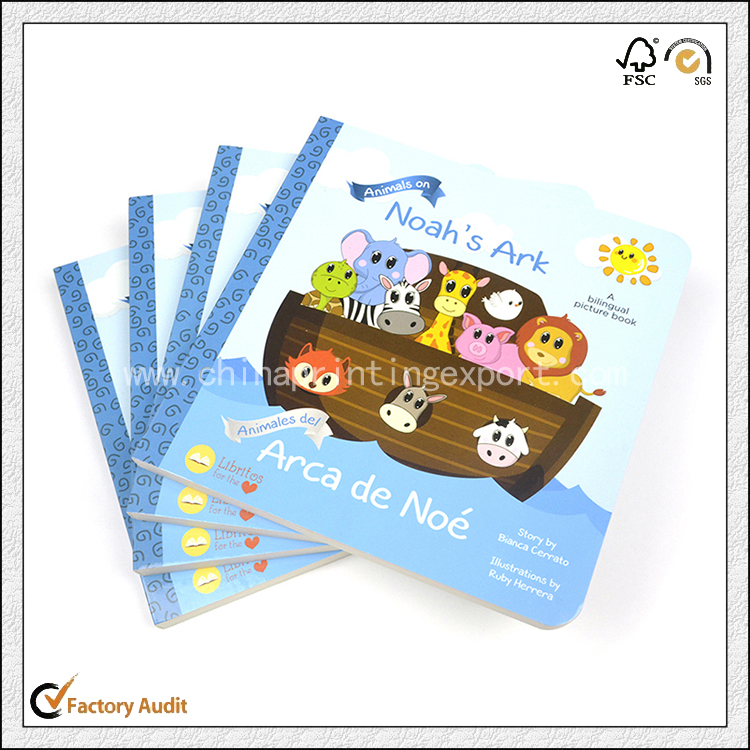 Cardboard Book Printing In China With Cheap Price